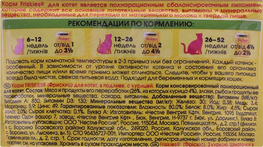 Разбор состава и подробная характеристика сухих кормов для кошки «грандин»