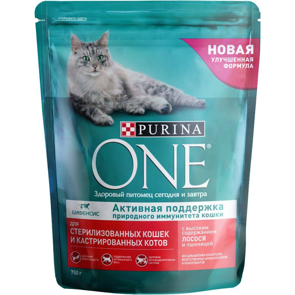 Лучшие корма для стерилизованных кошек