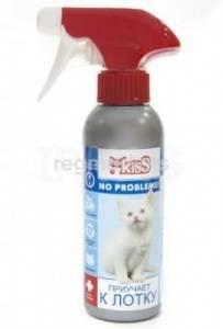 Спрей умный спрей приучение к туалету для кошек apicenna