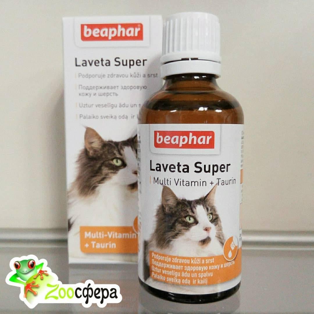 Кошачьи витамины от выпадения шерсти