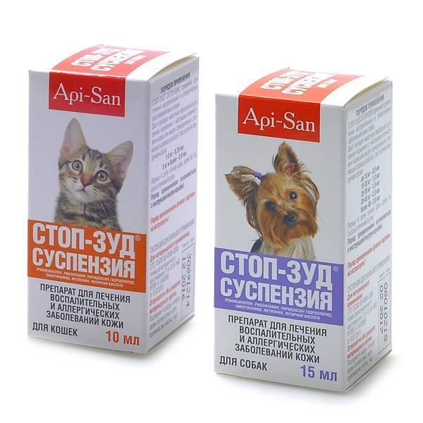 Стоп зуд для собак суспензия побочные эффекты. суспензия стоп зуд для кошек: инструкция по применению. инструкция к применению