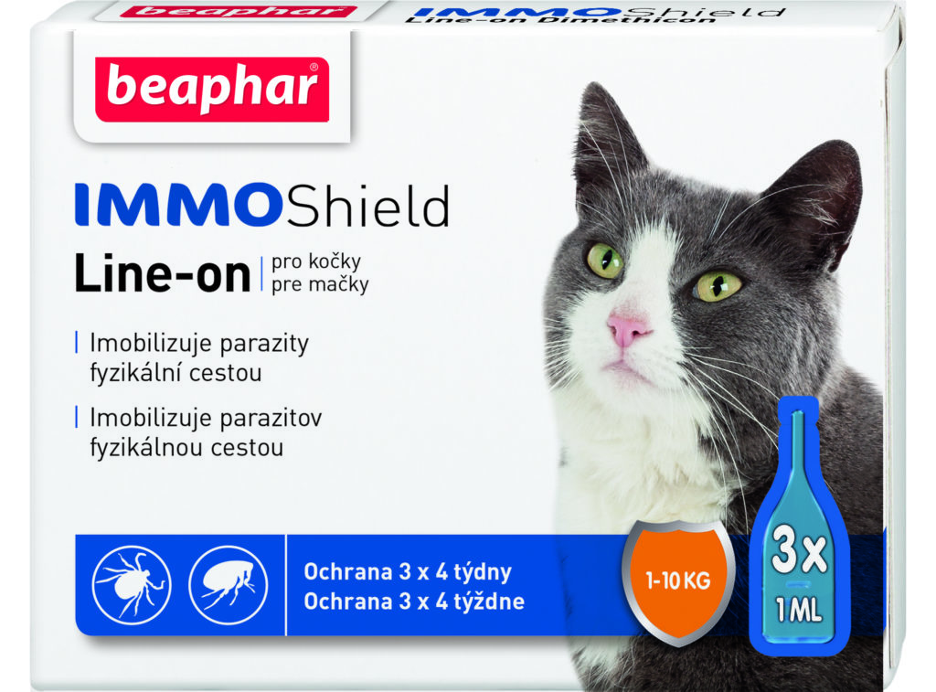 Капли от блох для кошек