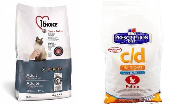 Выбираем идеальный корм для кошки при мочекаменной болезни