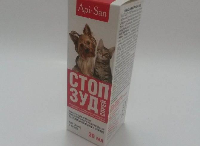Стоп-зуд для кошек: описание и инструкция по применению