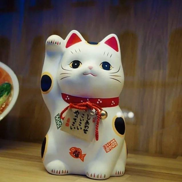 Кошачий символ манеки - неко
