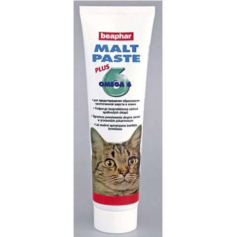 Паста для выведения шерсти у кошек: выбор и секреты использования