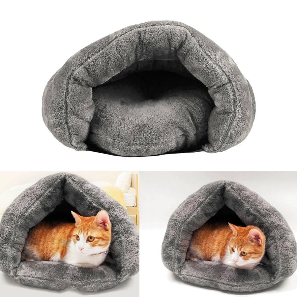 Делаем лежанку для кошки своими руками из подручных материалов: как сшить лежанку из свитера, выкройки и пошаговое руководство