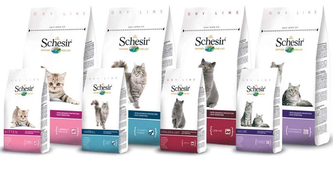 Schesir (шезир) — корм для кошек