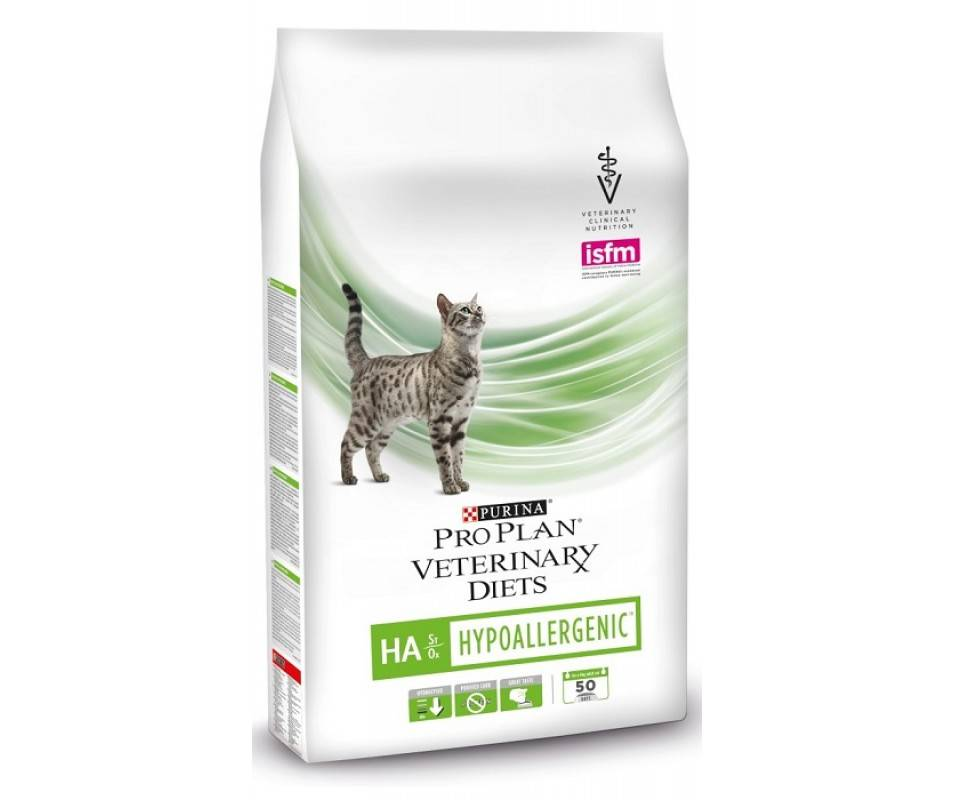 Гипоаллергенный корм для кошек