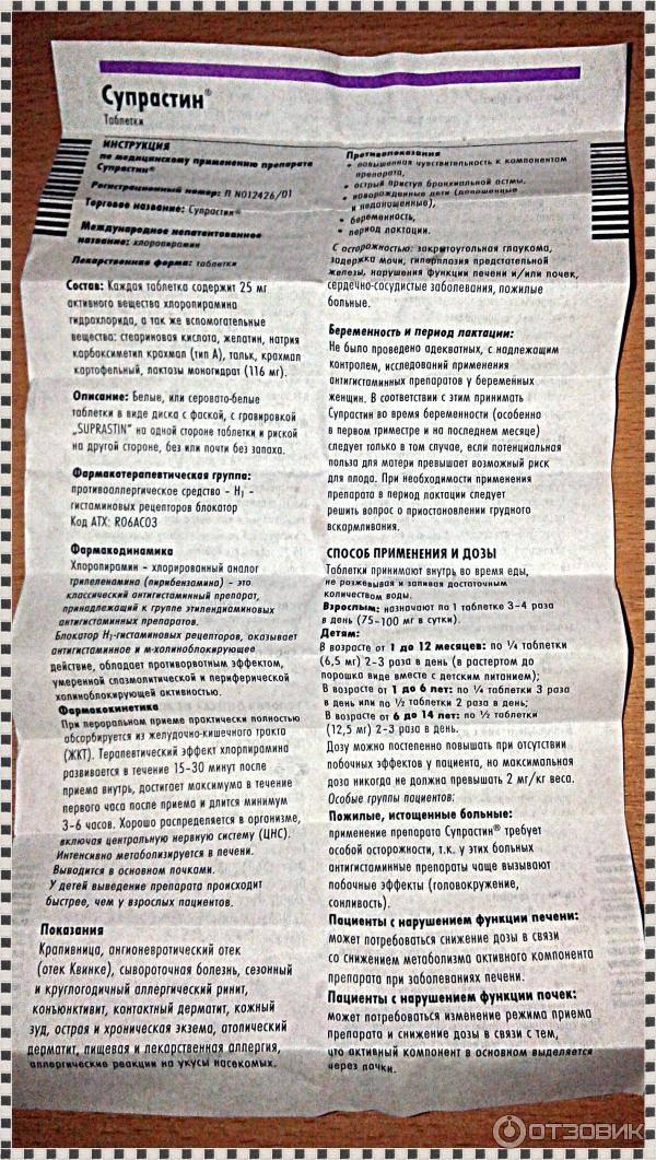 Как и когда применять супрастин для кошек - oozoo.ru