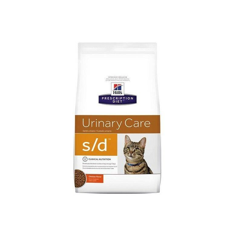 Корм при струвитах для кошек лечебный, диетический и для профилактики мочекаменной болезни
