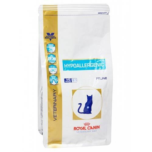 Гипоаллергенный корм для кошек: отзывы и обзор 10 популярных сухих кормов, а также все о пищевой аллергии у кошек