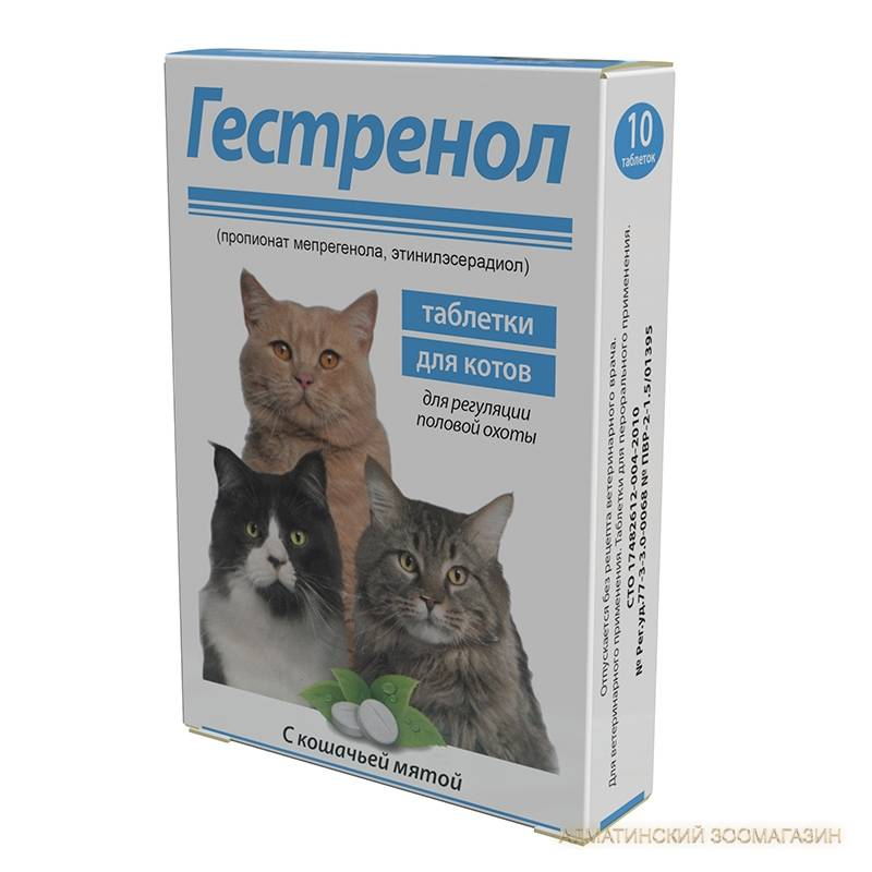 Капли для кошек от гуляния какие лучше