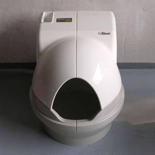 Автоматический туалет для кошек в умном доме: принципы работы и популярные модели