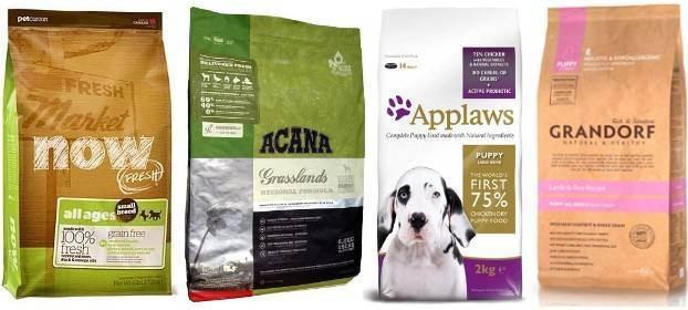 Классы кормов для домашних животных