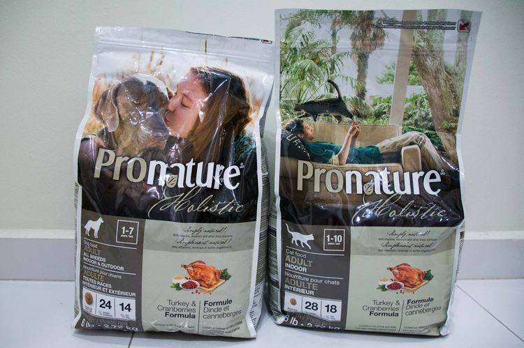Корм для кошек пронатюр (pronature): обзор, виды, состав, отзывы