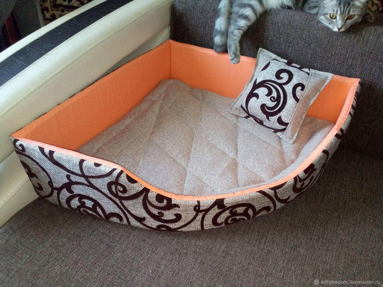 Лежанка для собаки |140 фото идей + пошаговые инструкции