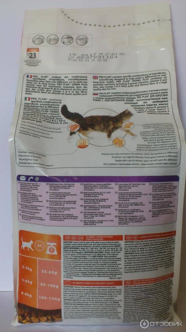Проплан для котенка: состав корма, отзывы ветеринаров