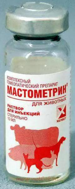 Показания к применению мастометрина мастометрин в виде раствора для инъекций