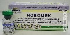 Препарат ветбиохим новомек, 1%, 1мл