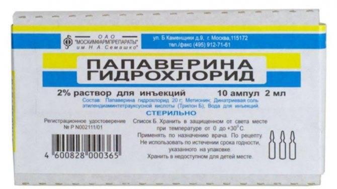 Папаверин для собак инструкция по применению уколы - гастританет