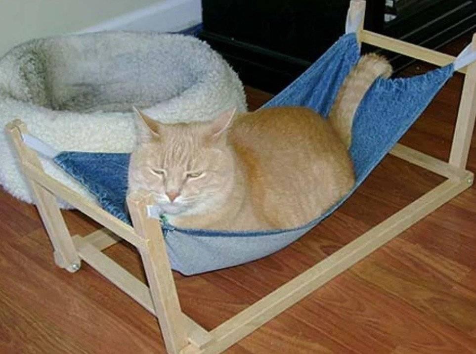 Построение выкройки и пошив лежанки для кошки своими руками