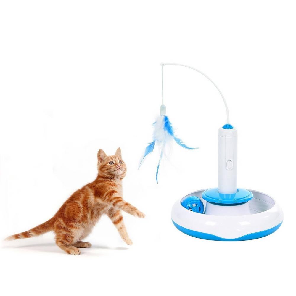 Игрушки для кошек — оригинальные, удобные и практичные игрушки для активных котят и взрослых котов и кошек (110 фото)
