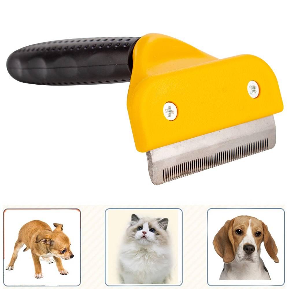 Удобное приспособление для ухода за шерстью — расческа для кошек фурминатор