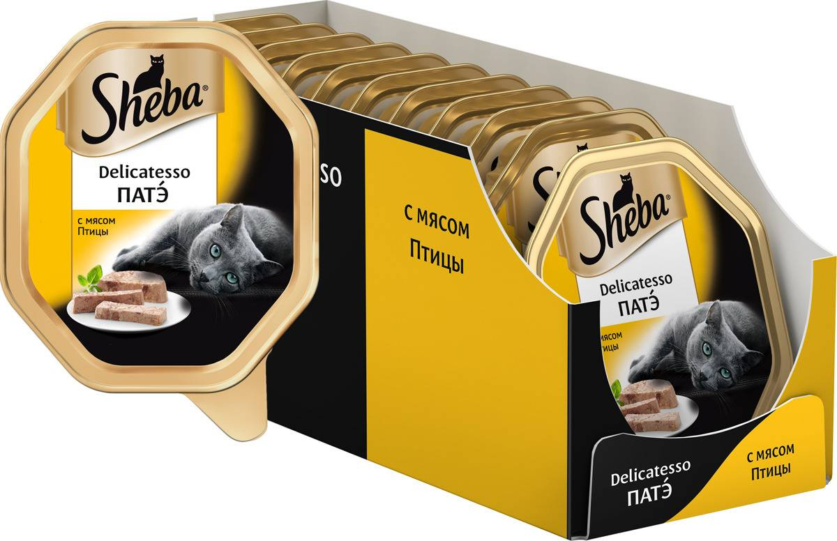 Корм шеба (sheba) для кошек | состав, цена, отзывы