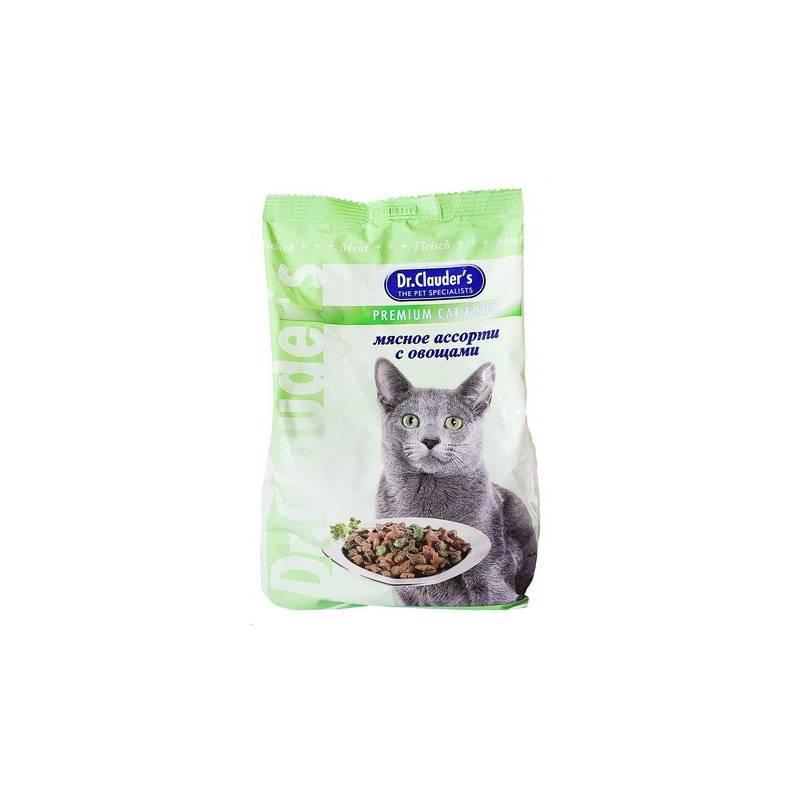 Корм для кошек доктор клаудер (dr. clauder's): отзывы ветеринаров, цена, состав