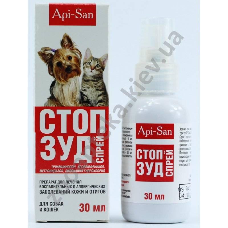 Если собака подверглась аллергическим реакциям и различным воспалениям — принимаем стоп-зуд