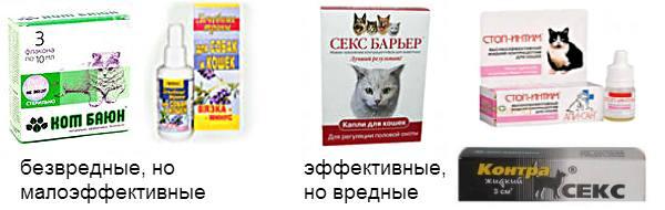 Уколы для кошек от гуляния: инъекции гормональных препаратов от течки