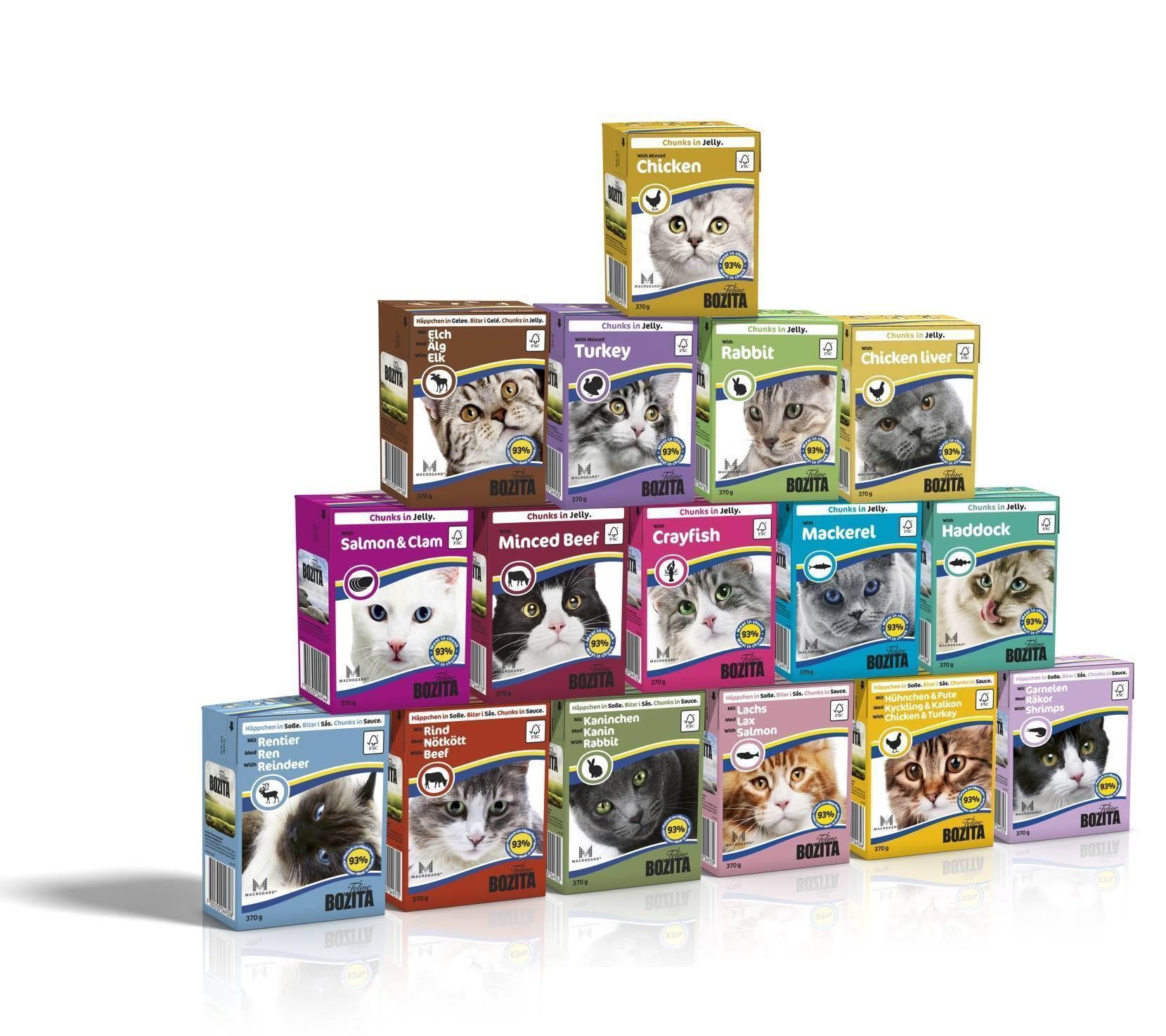 Влажные корма для кошек: компоненты, бренды, выбор, режим кормления