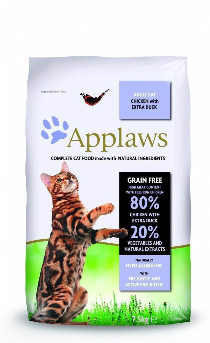 Беззерновые корма для кошек: достоинства и недостатки
