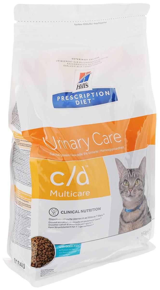 Лучший корм для кошек с почечной недостаточностью