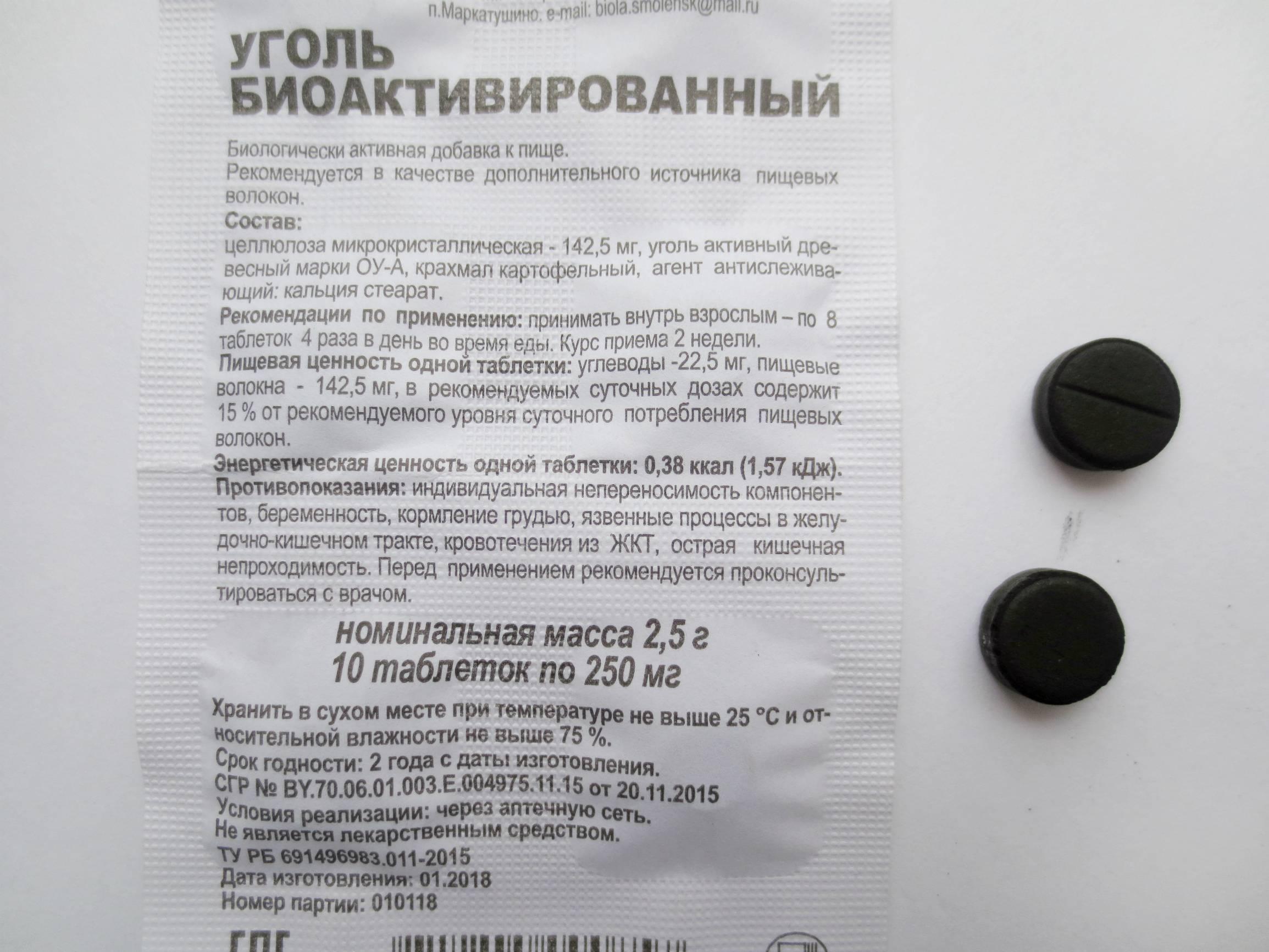 Активированный уголь коту при аллергии