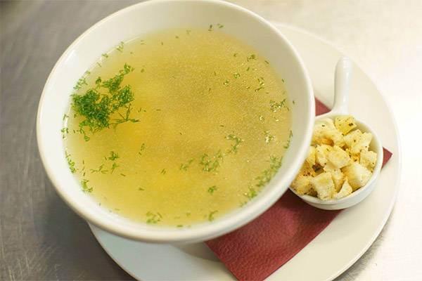 Калорийность куриного супа
