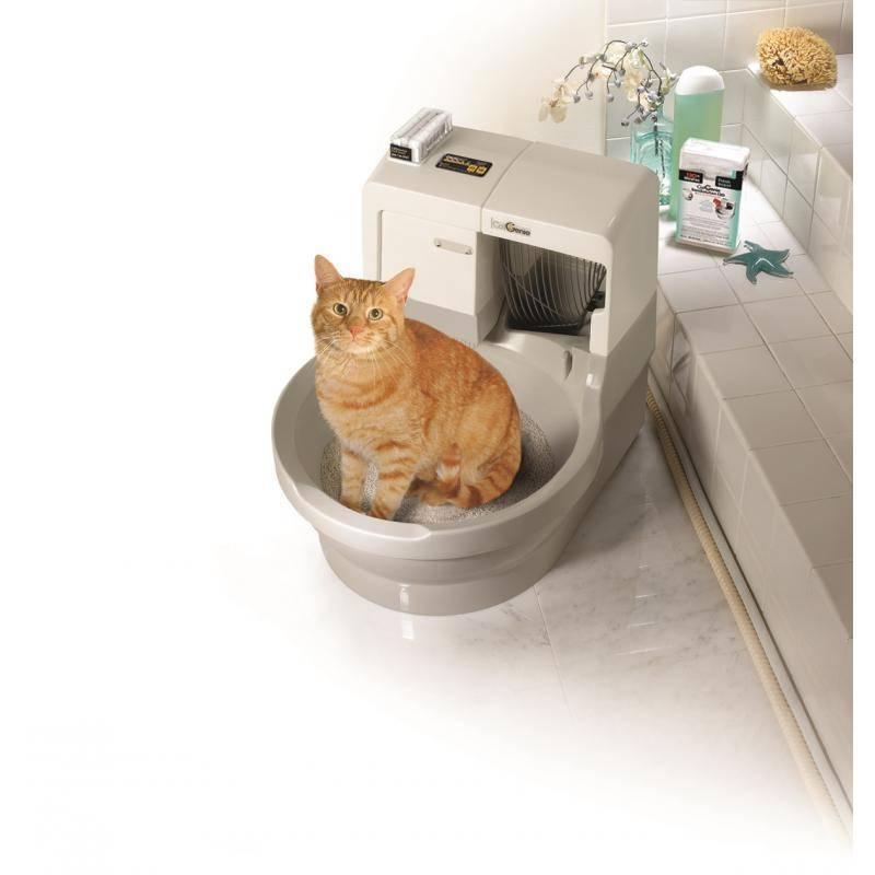 Самоубирающийся туалет для кошек - для занятых хозяев и требовательных питомцев