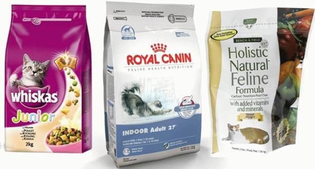 Какие бывают классы сухих кормов для кошек