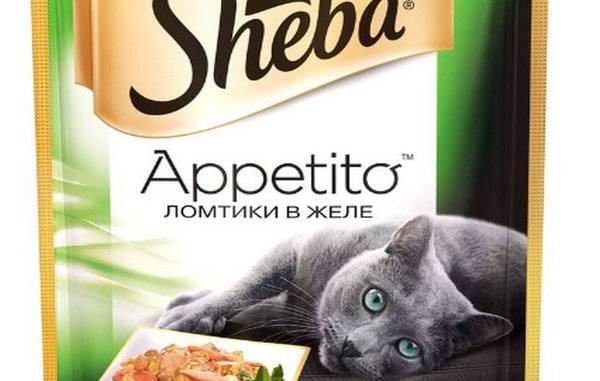 Корм для котят и взрослых кошек sheba («шеба»)