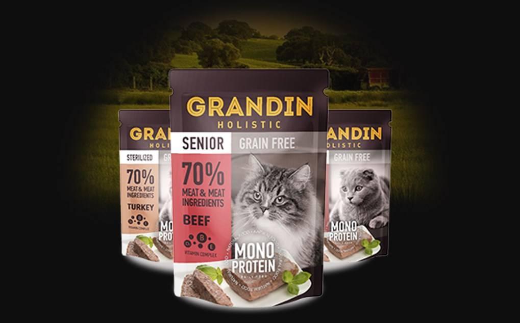 Корм для собак grandin: отзывы, разбор состава, цена - петобзор