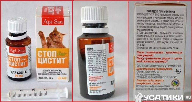 Стоп цистит для кошек — эффективный препарат!