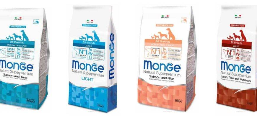 Корм монж (monge) для кошек   состав, цена, отзывы