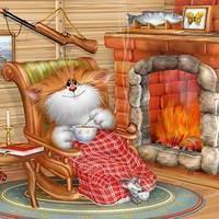 Овен. гороскоп для кошек