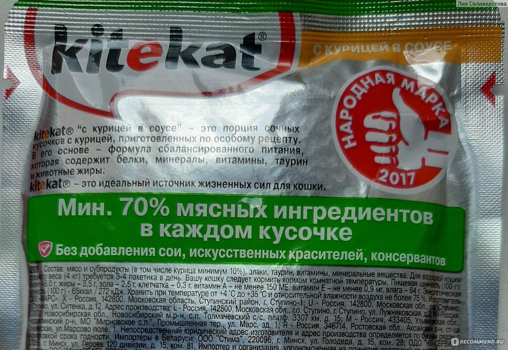 Now – корм для кошек и котят holistic-класса: состав разных продуктов бренда