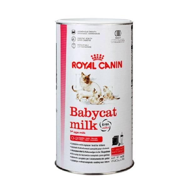 Заменители кошачьего молока