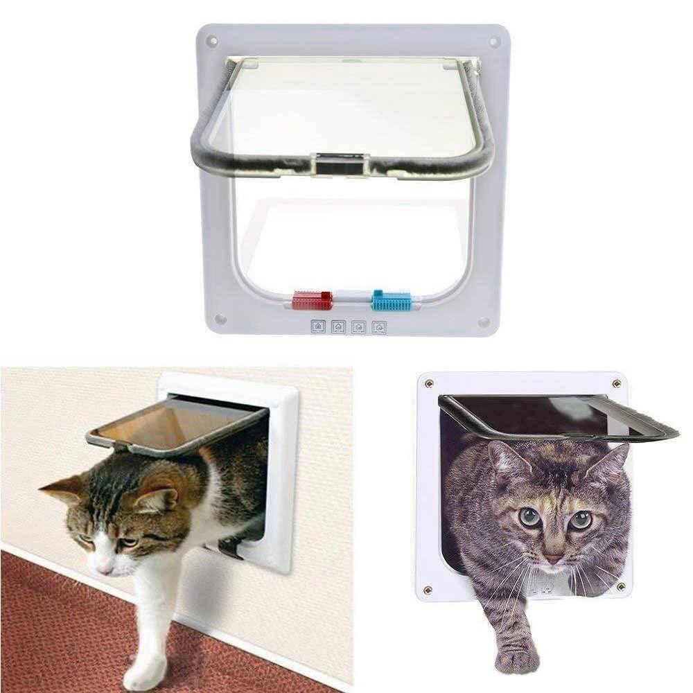 Дверца для кошки в туалет и другие помещения: как сделать своими руками