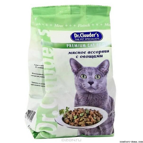 Доктор клаудер корм для кошек состав
