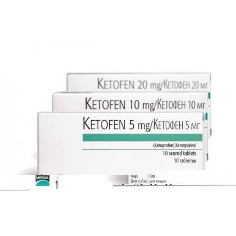 Кетофен для животных: состав препарата и дозировки, инструкция по применению