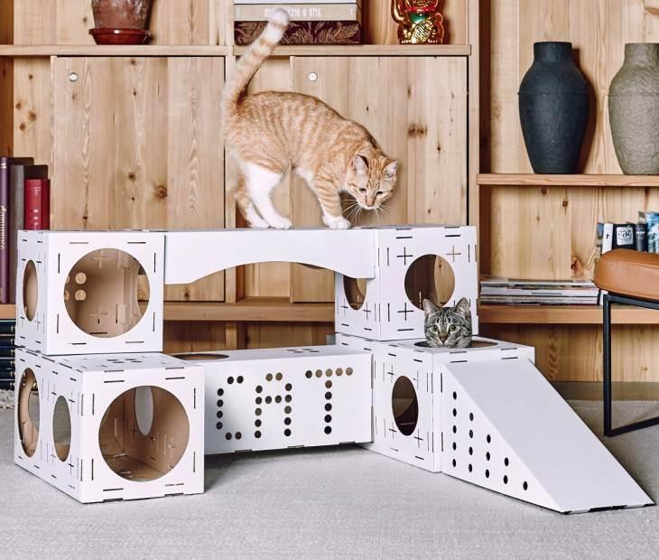 Лежанка для кошки своими руками: 11 простых идей